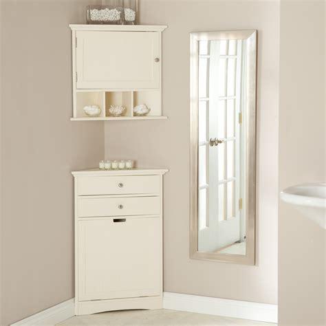 white wooden bathroom cabinets bathroom corner linen cabinet 21648