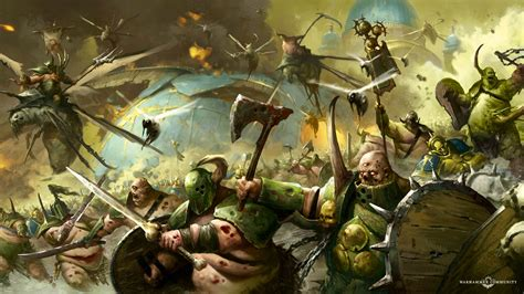nurgle pusgoyle blightlords fly high bell  lost souls