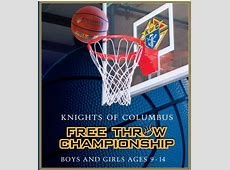 Knights of Columbus FreeThrow Championship for Boys and