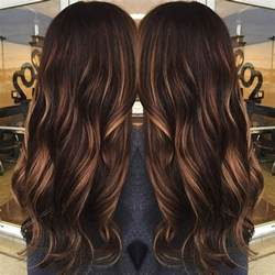 Pumpkin Spice Hair Dye by 50 Chocolate Brown Hair Color Ideas For Brunettes