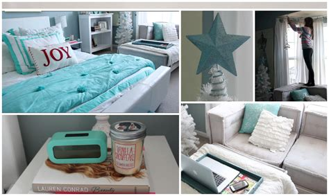 simple ways to decorate your bedroom for christmas