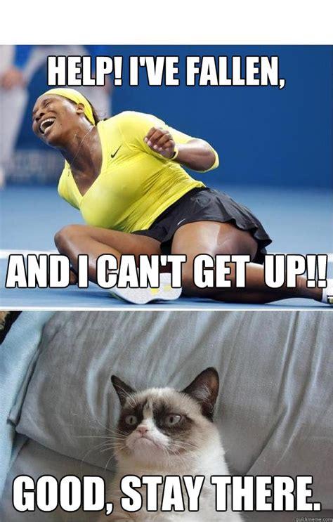 Help I Ve Fallen And I Cant Get Up Meme - grumpy life alert cat memes quickmeme