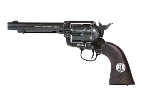 duke colt co2 bb revolver weathered wayne single 0 177 cal ebay