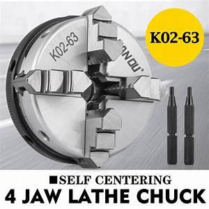 4 Jaw Self Centering Mini Lathe Chuck