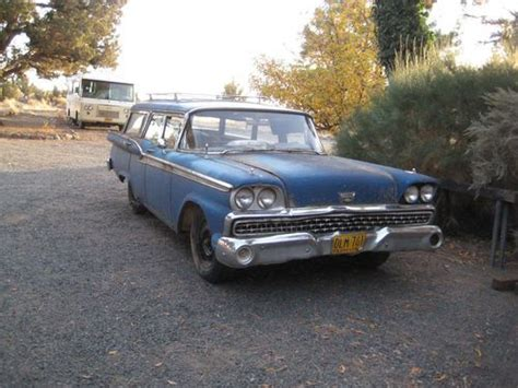 ford usa 1959 country sedan 4door station wagon the find used 1959 ford country sedan station wagon no reserve