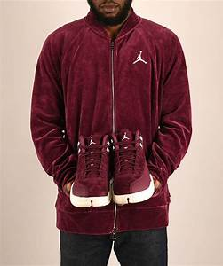 Air Jordan 12 Bordeaux Matching Apparel   SneakerFits.com