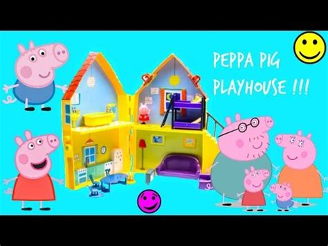 la maison de peppa pig peppa playhouse peppa speelhuis peppa spielzeug spielhaus la maison de jeu peppa peppa speelgoed