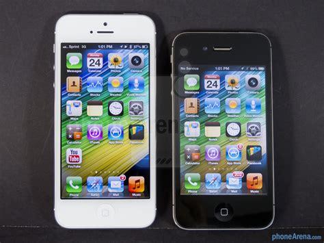 iphone 4 vs iphone 5 apple iphone 5 vs apple iphone 4s