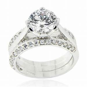 Inexpensive wedding rings sterling silver wedding ring for Wedding bands and engagement ring sets