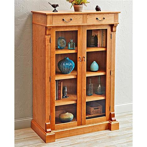 Woodworking Plans Bookcase by Display Bookcase Woodworking Plan From Wood Magazine