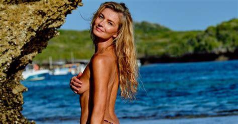 paulina porizkova returns sports illustrated swimsuit issue