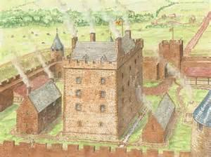 house plans european reconstruction of garleton castle