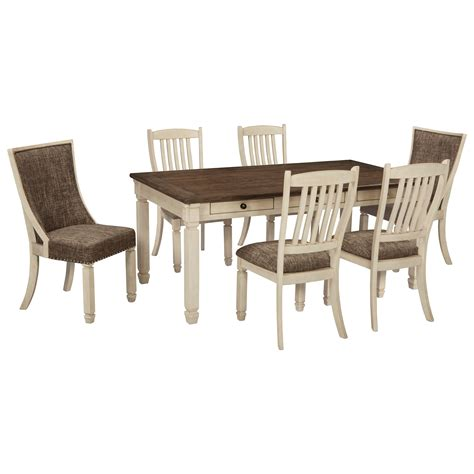 ashley furniture dining tables and chairs signature design by ashley bolanburg relaxed vintage 7