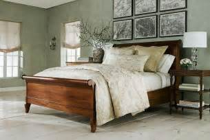 ethan allen bedroom furniture cherry sleigh bed country ethan allen bedrooms