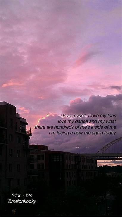 Aesthetic Stray Lyrics Lyric Wallpapers Bts Quotes