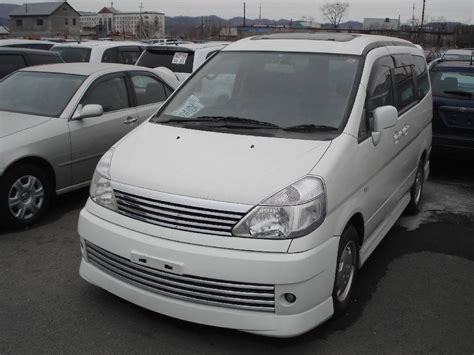 Nissan Serena Picture by 2003 Nissan Serena Pictures 2 0l Gasoline Ff