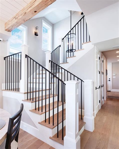 Metal Banister Railing by Industrial With A Mix Of Comfort For This Wrought Iron