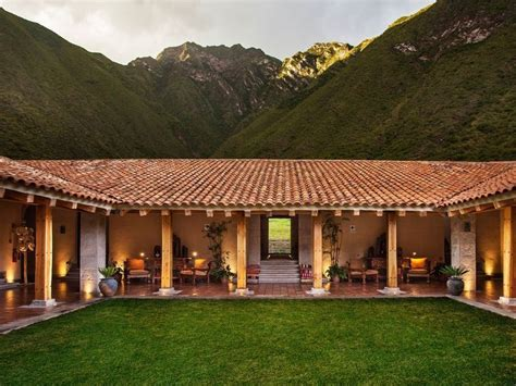 images   shaped house plans  pinterest house hacienda style homes