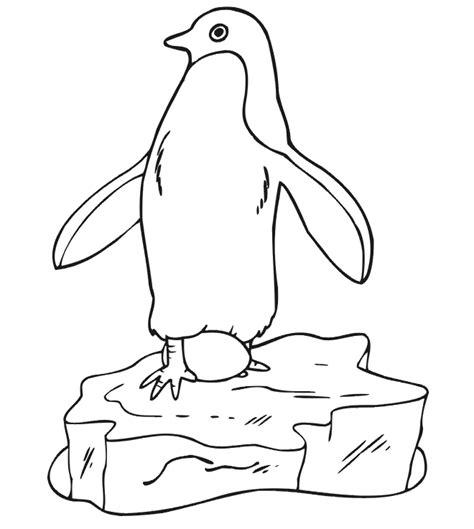 Kleurplaat Pinguins Boomhut by Pinguin Kleurplaten Animaatjes Nl