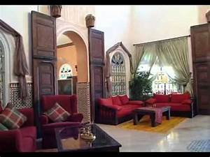 decoration maison marocaine youtube With decoration des maisons marocaine