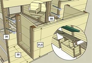 Plan De Construction : construction d 39 un poulailler en palettes modulable plan ~ Melissatoandfro.com Idées de Décoration