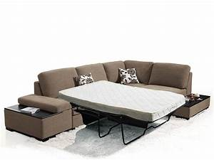 Risto modern sectional sofa bed for Sectional sofa bed gta