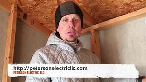 Installing Power To A Small Residential Shed  Loveland