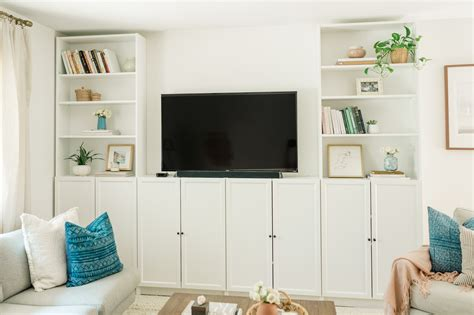 Our Diy Ikea Billy Bookcase Built Ins