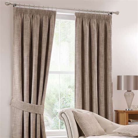 Living Room Curtains Pencil Pleat by Lorenza Mink Lined Pencil Pleat Curtains Dunelm Home