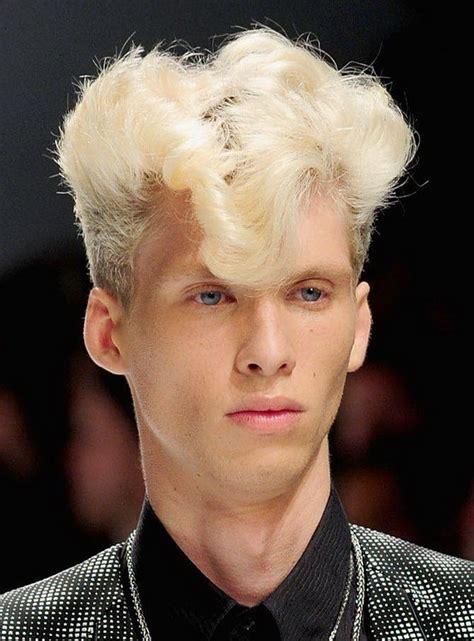 blonde hairstyles   men stylish eve