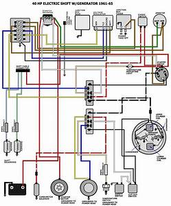 Need Wiring Diagram For 1966 40hp Evinrude Rkl-28b Page  1