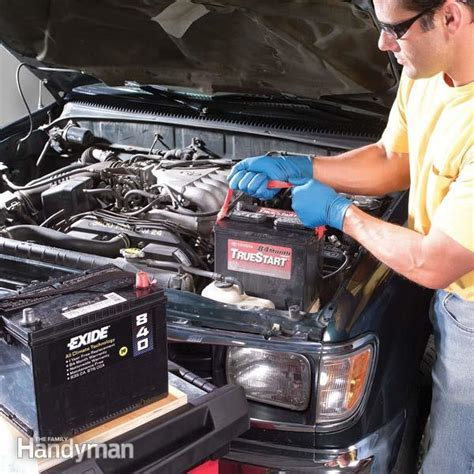 Car Battery Care   The Family Handyman
