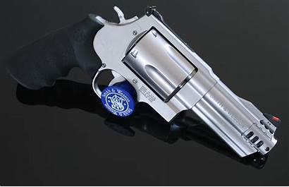 Powerful Wesson Handgun Smith 500 Lethal Magnum