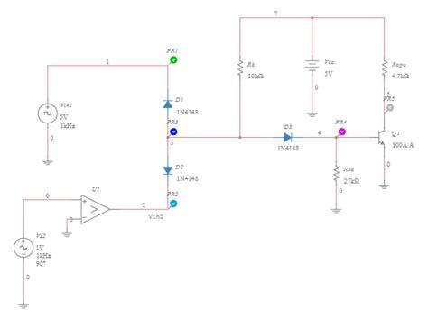 Nand Gate Transistor Based Multisim Live