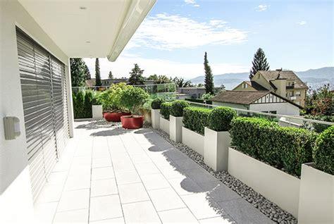 Dachterrassen Dachgarten Terrassengestaltung