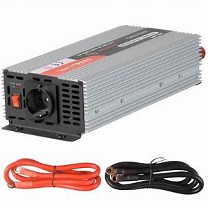 Wechselrichter 1000 Watt : sinus spannungswandler inverter 12v auf 230v 1000 2000 w ~ Jslefanu.com Haus und Dekorationen