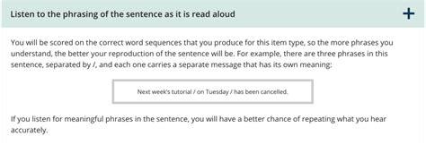 Speaking 13 Repeat Sentence