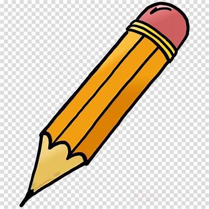 Pencil Transparent Clipart Cartoon Clip Drawing Broken
