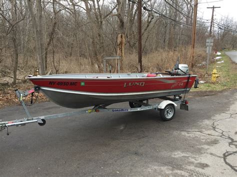 Buy Boat Trailer Ontario by 2005 14 Foot Lund Boat And Trailer Classifieds Buy