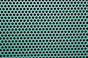 Teal Metal Mesh with Round Holes Texture Picture Free Photograph Photos Public Domain