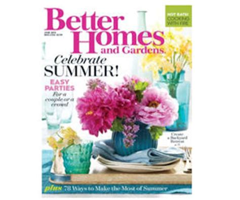 Better Homes And Gardens Mailing Address better homes gardens magazine free subscription