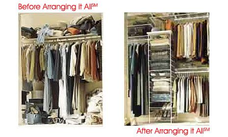 Closet Organization Services by Home Closet Organization Professional Organizing