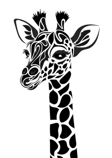 tribal giraffe  dessins fantastiques  deviantart