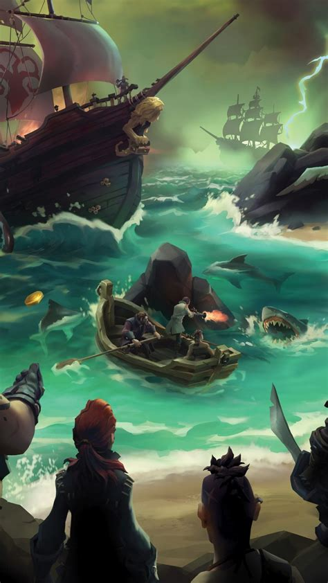 Meaning you can buy it once, and play on both xbox one and pc. Wallpaper Sea of Thieves, Gamescom 2016, pirates, best ...