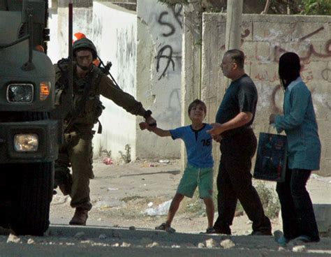 office palestinian childrens rights  violated