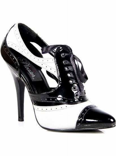 Oxford Pumps Shoes Heels Inch Spectator Walmart