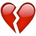 Broken Heart Emoji - Copy & Paste - EmojiBase!