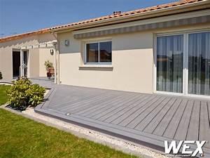 Lame De Terrasse En Composite : terrasse en bois composite opti wood ~ Dailycaller-alerts.com Idées de Décoration