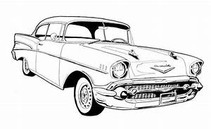 57 chevy bel air drawing chevy39s 55 57 pinterest 57 With 1941 ford coupe red