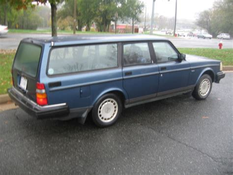 Volvo Estate Wagon by Volvo 240 Station Wagon 1992 Blue For Sale